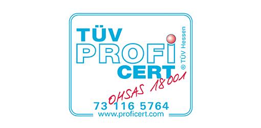 Mertz certifié Iso 18000-2015